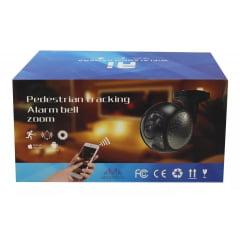 Câmera Ip Wi-fi Externa Acesso Celular 180graus Alarme - Alta definição de Imagem