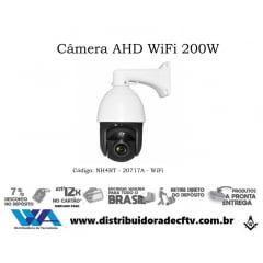 Câmera speed dome ip wi-fi de cftv e segurança zoom optico 30X ir de 200 metros NH4RT-20717A