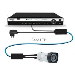 Conversor Power Balun Intelbras Vb 3001 Wp 4k original com nota fiscal
