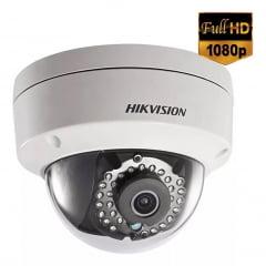 Camera de segurança infra vermelho Ip Dome Hikivision 4mm 1080p 30mts Ds-2cd2120f-i