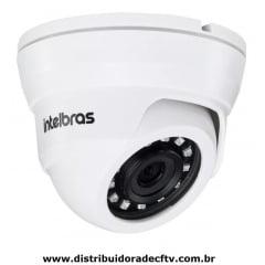 Câmera de segurança Ip dome Infra vermelho Intelbras Vip 1220D G3 2 Megapixel lente 2.8mm Ir 20mts