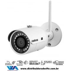 Câmera de segurança IP Intelbras WiFi Full HD VIP 3430 W 4MP