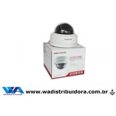 Câmera ip dome antivandalismo Hikvision Ds2cd1121i Easy Ip 2mp 2.8mm 30m