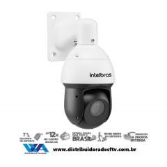Câmera de segurança Speed Dome IP Intelbras VIP 3212 SD IR Full HD