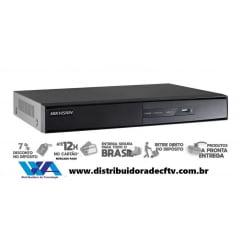 Nvr para câmera de cftv e segurança hikvision ds-7104NI-Q1/M 4 canais até 4 megapixel