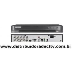 Gravador DVR stand alone Hikvision  DS-7208HQHI-K2-P 8 canais 8MP 5 em 1