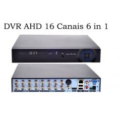 Dvr Stand Alone Hibrido 16 Canal D1 1080p P2p Acesso Celular