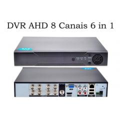 Dvr Stand Alone Hibrido 8 Canais D1 1080p P2p Acesso Celular
