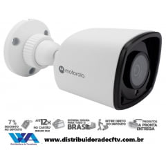Câmera Ip de segurança e cftv Bullet Motorola 2MP MTIBM022601