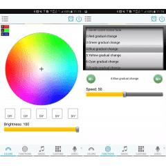 Controle E Controladora Wi-fi Fita Led Rgb Ios E Android