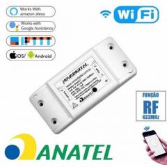 Interruptor SmartHome Wi-Fi RF 433MHz - Nova Digital