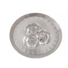 Lâmpada Led Dicróica GU10 led branco quente 3w Bivolt