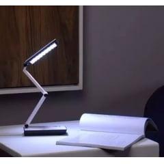Luminária De Mesa Escritório 24 Leds Leitura Recarregável