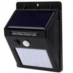 Luminária Solar de Parede com Sensor de Movimento 30 LEDs