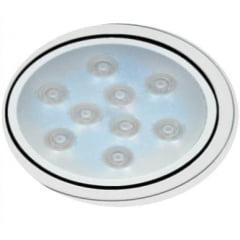 Luminárias de Teto Spot Super LED 9W Branco Frio Redonda Direcionável
