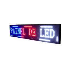 Painel de led Letreiro a led 130X20 colorido interno