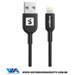 Cabo Usb para Iphone - Cabo de Carregamento USB / Lightning 1 metro SS-B1I6 - Atacado Caixa com 100 pçs