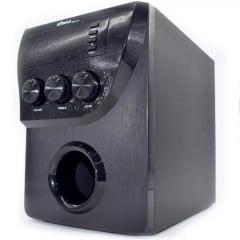 Caixa De Som 20w Bluetooth 2.1 Micro System Mp3 Fm Pc Tv