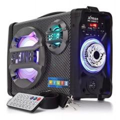 Caixa De Som Multiuso Bluetooth Xtrad Ms-1580bt-c Imperdível