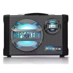 Caixa Som Bluetooth Karaokê+microf+usb+sw+led - Ms-1580-c