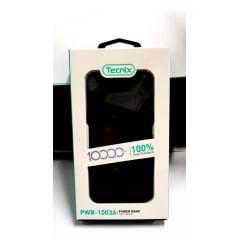 Carregador Power Bank Portátil Celular 10000mah Bateria Externa Tecnix