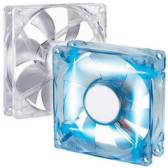 Cooler Fan 80mm LED Azul