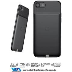 Capa para Carregamento Sem Fio Baseus Wireless Iphone 7 Preto