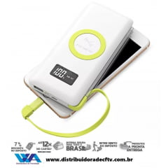 Power Bank Pineng Qi Fast Charge 10.000mah Usb 3.0 Wireless