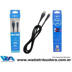 Promoção 10 Cabos Inova 2.4A USB Type C