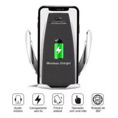 Suporte Automotivo S5 Wireless iPhone