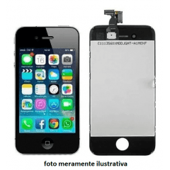 Tela Touch+ Display Lcd iPhone 4s A1387 A1431 preto