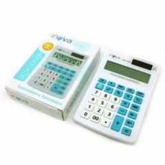 Calculadora Eletrônica 12 Dígitos Inova - CALC-7070