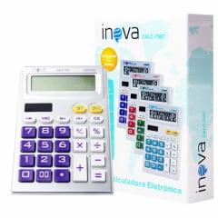 Calculadora Eletrônica 12 Dígitos Inova -CALC-7087