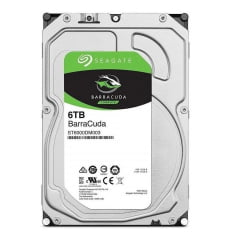 Disco rígido interno Seagate Barracuda  6TB 5400 rpm