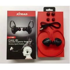 Fone Bluetooth Sem Fio Sport Xtrad Lc118 Academia Corrida
