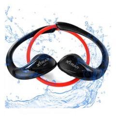 Fone De Ouvido Bluetooth Esporte Á Prova D'água Xtrad Lc117