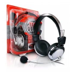 Fone De Ouvido Red Set Headphone Huanle Hl-301mv Microfone