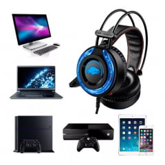 Fone Headset A5 Hi-fi Bass Usb P2 Microfone Pc Xbox Play