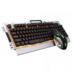 Kit Teclado E Mouse Gamer Com Fio Jp133