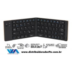 Mini Portátil Sem Fio Bluetooth Dobrável Dobrável