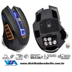 Mouse Gamer Dragon War G13 com Macro