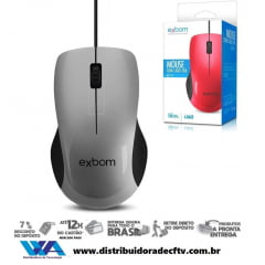 Mouse Óptico USB Exbom MS-47