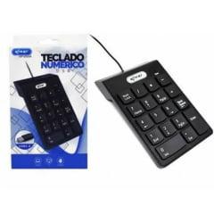 Mini Teclado numérico usb para notebook