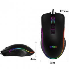 Mouse Gamer USB RGB 7 Botões Weibo S320