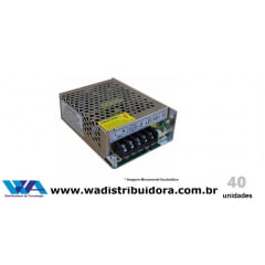 Fonte de Alimentação Chaveada para Cftv e segurança Colméia 12 Volts 5 Amper