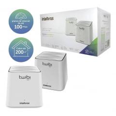 Roteador Wireless intelbras Ac 1200 Mesh Twibi Fast (2 Unidades)