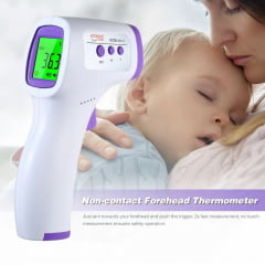 Termômetro digital de testa infravermelho LCD Termômetro infravermelho portátil Termômetro infravermelho