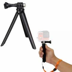 Tripé para Action Cam 2 Em 1 Com Grip - ESO68
