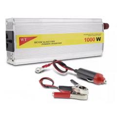Inversor de Voltagem Automotivo 1000w 12v Para 110v Conversor 60Hz