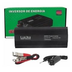 Inversor Lucky 12v 110v Solar 60hz 2000w Entrega Imediata